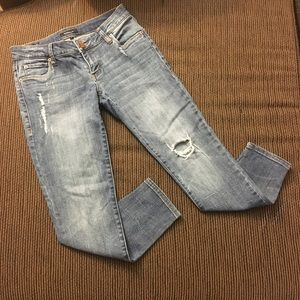 STS Women's Light Denim Skinny Jeans Size 1